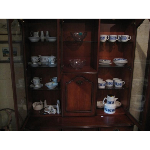 228 - Two Glass Fruit Bowls and a collection of Teawares...