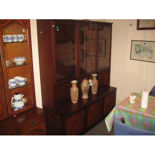 229 - 3 Door Sitting Room Display Cabinet...