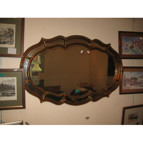 231 - Decorative Framed Mirror...