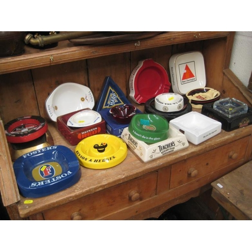 236 - Collection of various Advertising Ashtrays...