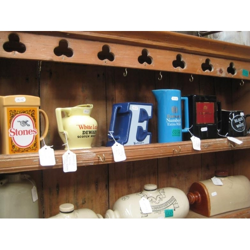 238 - Collection of 6 Pub Advertising Jugs...