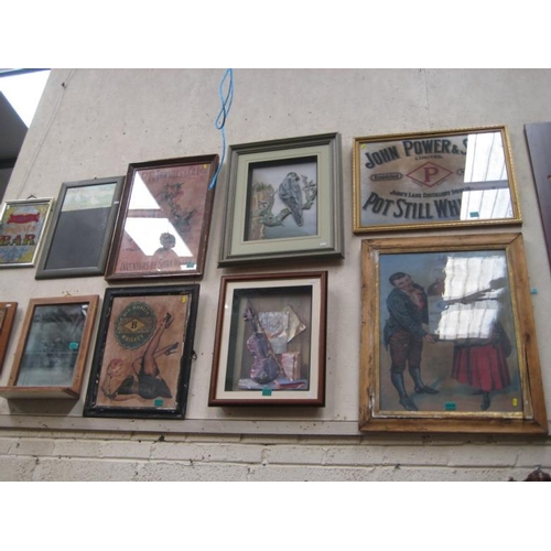 250 - Two Framed 3 Dimensional Wall Art Pictures...