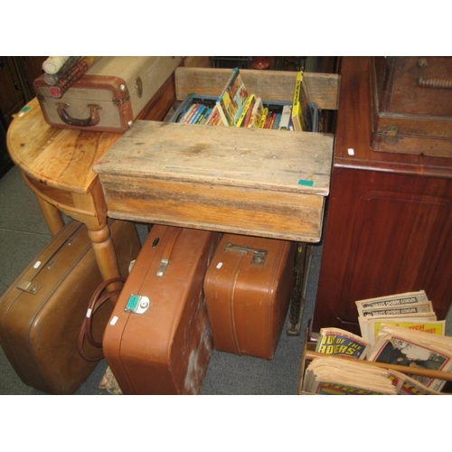 265 - Vintage Pine Childs Desk...