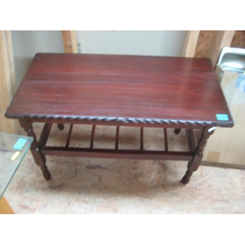 28 - Rectangular Coffee Table with an undertier...