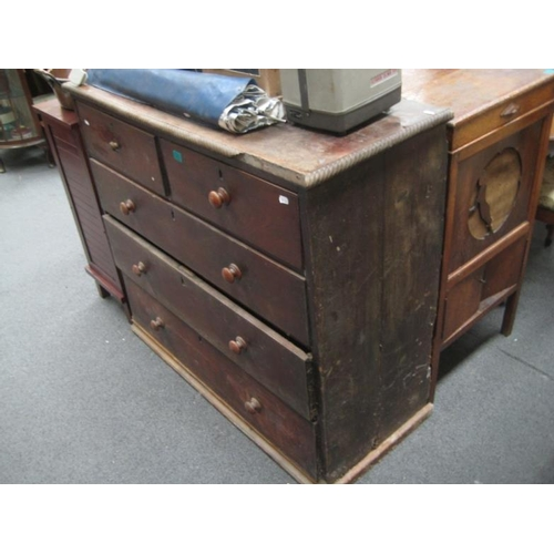 284 - Victorian Mahogany Chest of Drawers for...