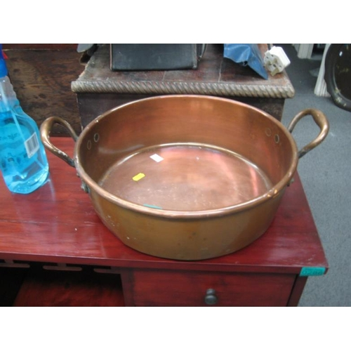 287 - Copper Preserving Pan...