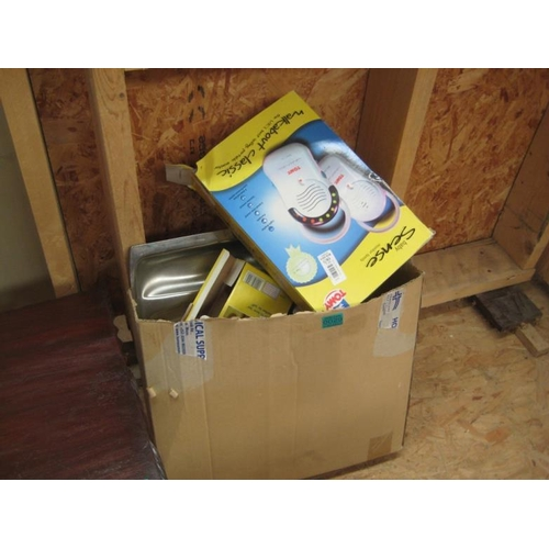 29 - Baby Monitor and other items in a Box...