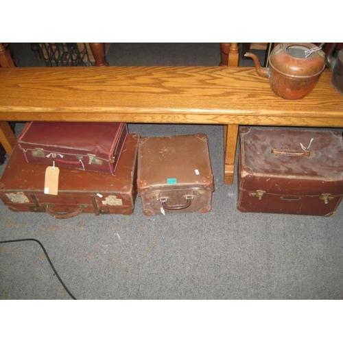 299 - 4 Vintage Travel Cases...
