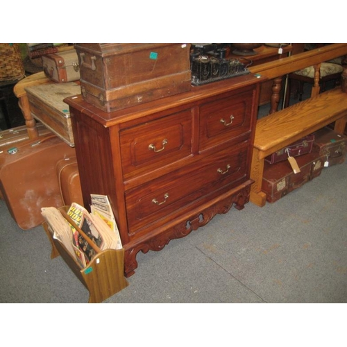 301 - Hardwood Chest of Drawers...
