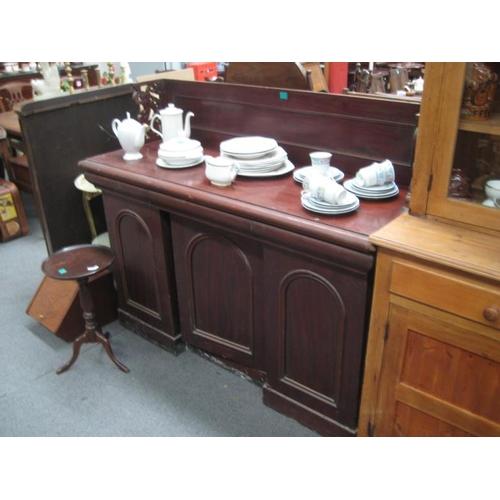 314 - Victorian Mahogany 2 Door Side Cabinet...