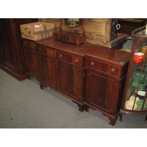 321 - Breakfront 4 door Sideboard with 4 drawers over 4...