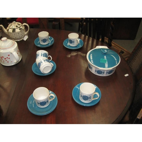326 - Vintage English Pottery Tea Set...