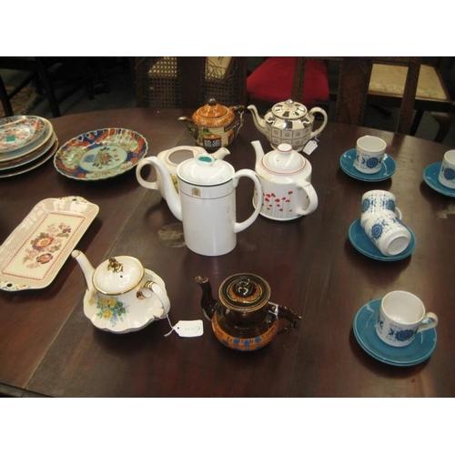 329 - Collection of 7 Vintage Porcelain Tea Pots...