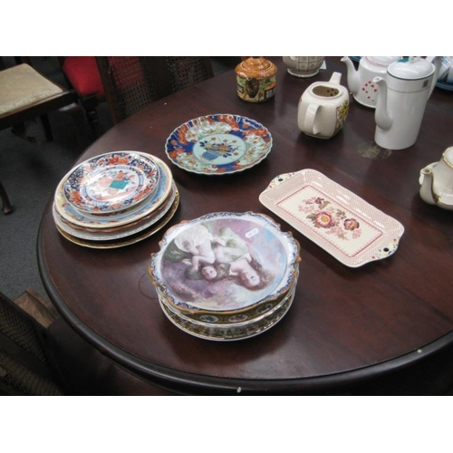 330 - Collection of Imari and other Cabinet Plates...