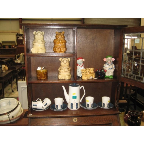 335 - Art Deco Style Coffee Set and other collectibles...