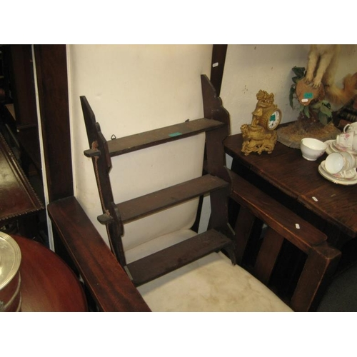 346 - 3 Shelf Mahogany Display Stand...