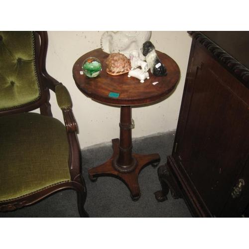 366 - Victorian Mahogany Wine Table...
