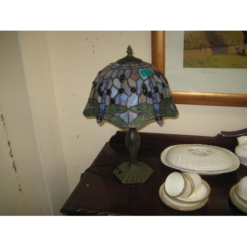 368 - Tiffany style Table Lamp...