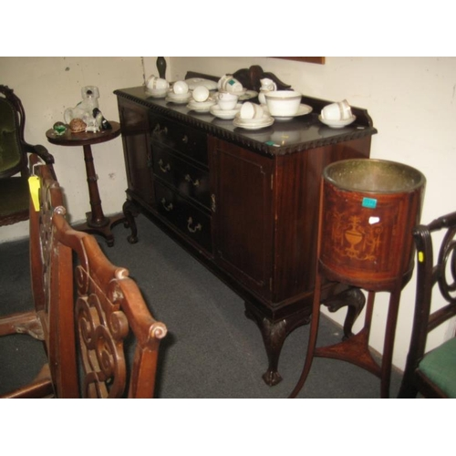 374 - Chippendale style Mahogany Sideboard...