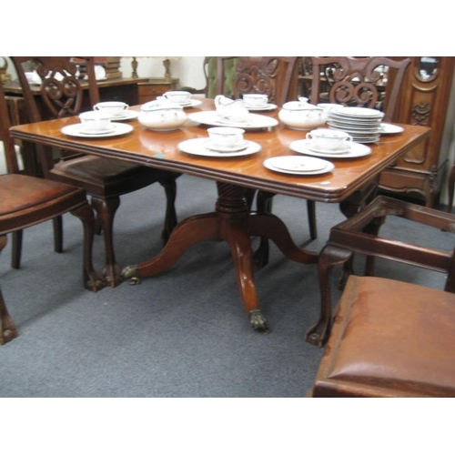 377 - Early Victorian Mahogany Breakfast Table...