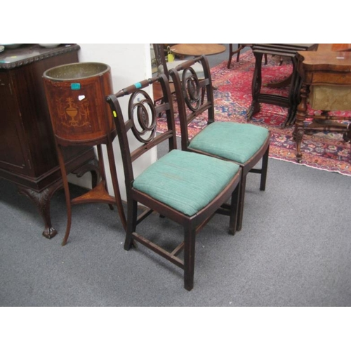 380 - Pair of Regency Mahogany Occasional Chairs...