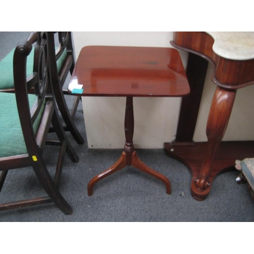 381 - Georgian Tilt-top Wine Table...