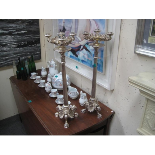 397 - Impresive Pair of Table Candelabra...