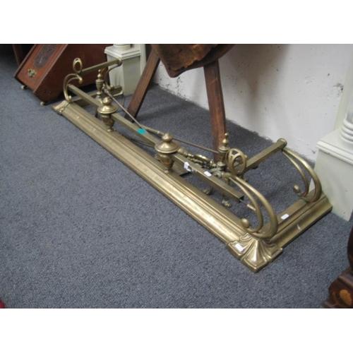 405 - Victorian Brass Fender...