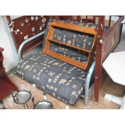 41 - Metal Frame Bed Sofa...