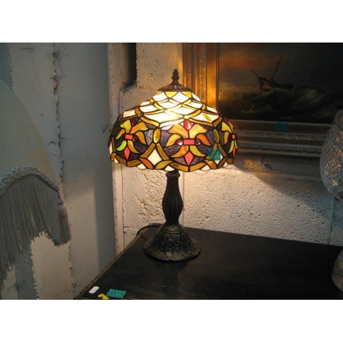 415 - Tiffany style Table Lamp...