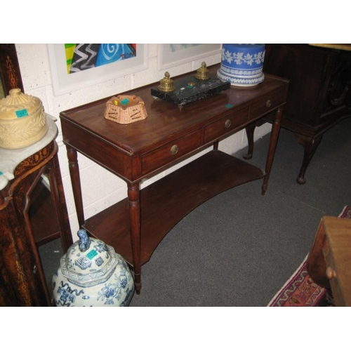 430 - Regency Mahogany Side Table...