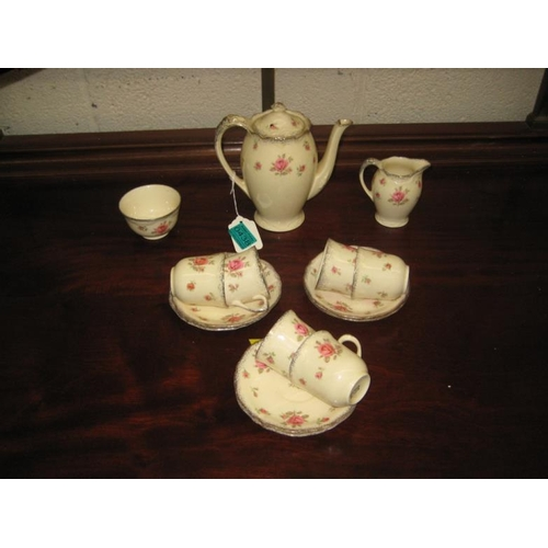 438 - Crown Ducal 15 piece Coffee Set...