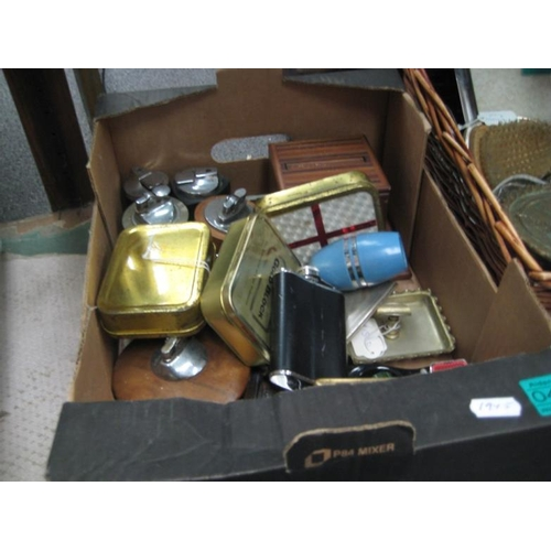 461 - Collection of various Vintage Cigarette Lighters,...