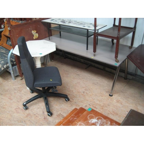 47 - Adjustable Writing Desk and an Office Chair...