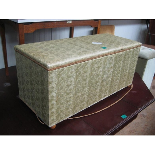 49 - 2 Upholstered Toy Chests...