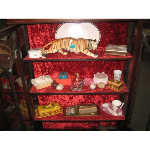 502 - Melba-ware Tiger and other collectibles...
