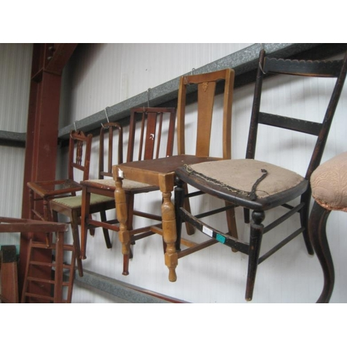 51 - Six Vintage Occasional Chairs...