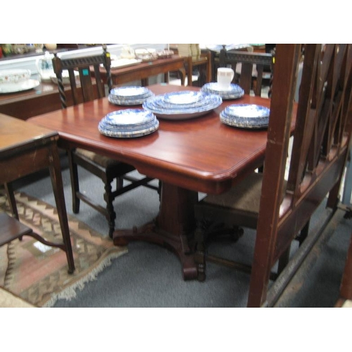 521 - Victorian Mahogany Breakfast Table on Centre...