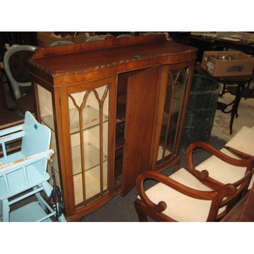 539 - Vintage 3 Door Side Cabinet...