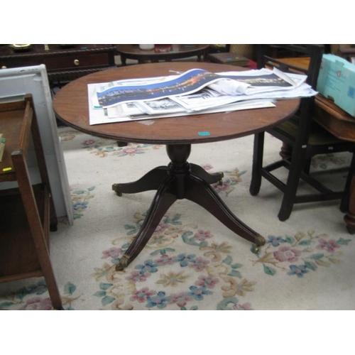 544 - Regency Style Mahogany Circular Supper Table...