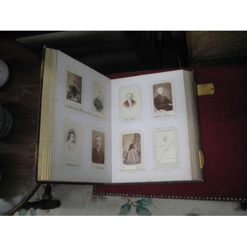 565 - Victorian Photo Album with photos...