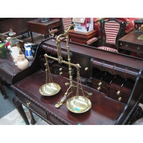 570 - Brass Balance Scales...