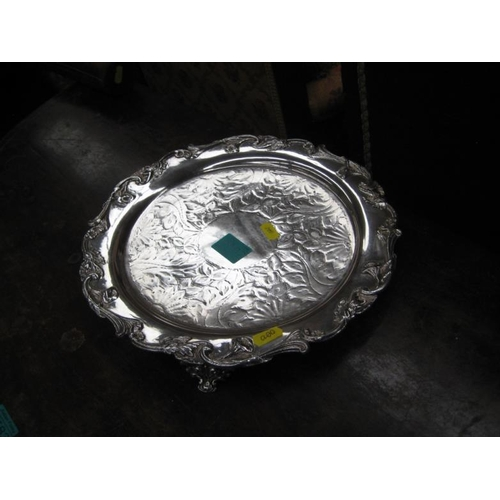 582 - Silver Plated Envelope Tray...