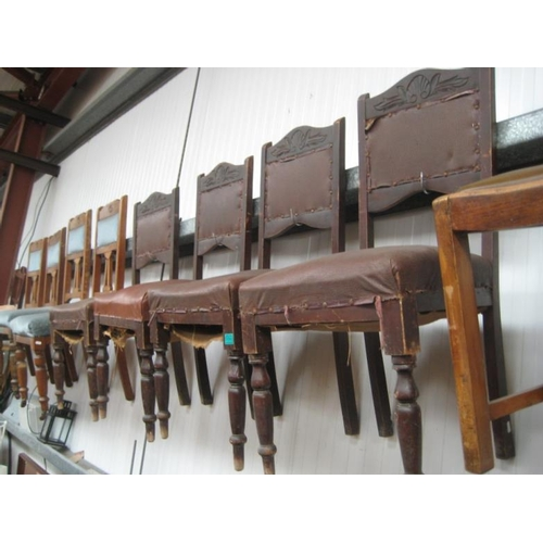 60 - Set of Edwardian Dining Chairs...