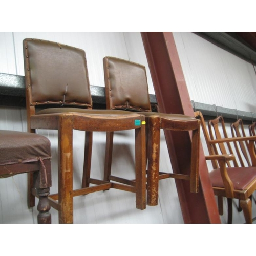 61 - Pair of Vintage Side Chairs and an Easy Chair...