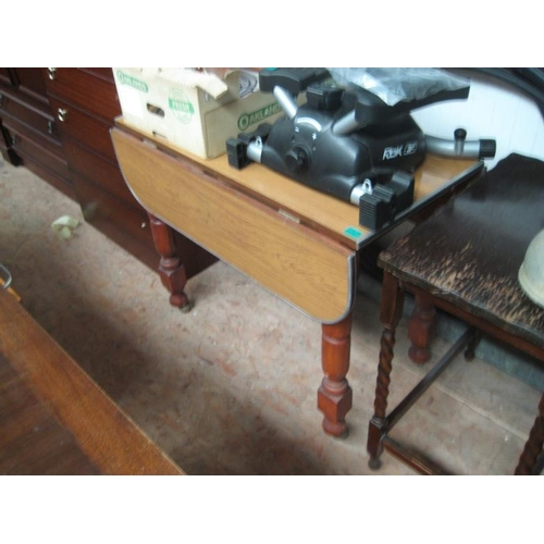 69 - Drop Leaf Kitchen Table...