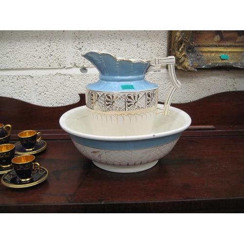 21 - Victorian Porcelan Jug & Bowl set...