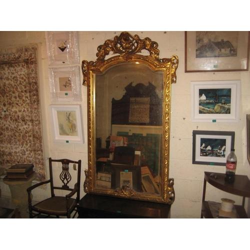 38 - Gilt Framed Pier Mirror - 100cm x 170cm...