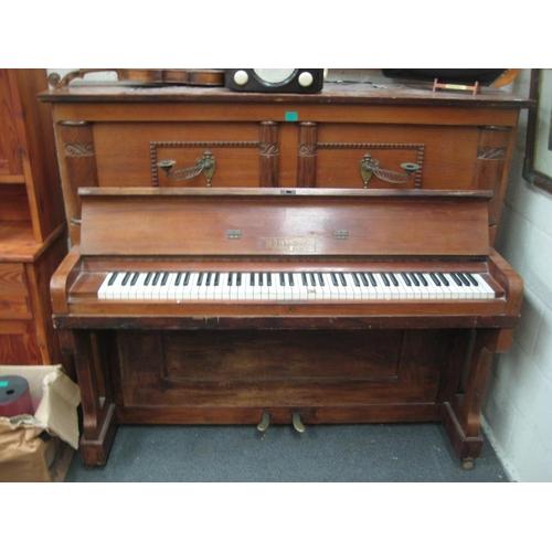 4 - Montague Upright Piano...
