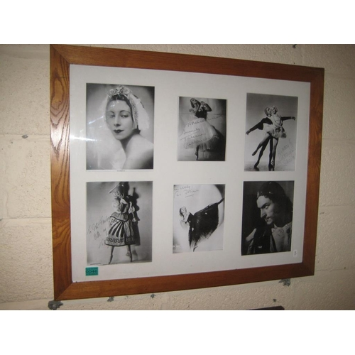 46 - Framed Collage of